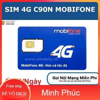 [Tặng 30 ngày sử dụng] SIM 4G MOBI C90N 120 GB THÁNG + 1000 phút gọi nội mạng + 50 phút liên mạng thumbnail
