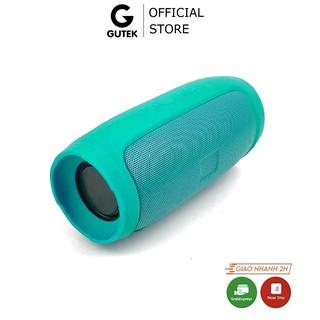 Loa Bluetooth Cầm Tay Nghe Nhạc Không Dây Nhỏ Gọn Để Bàn Cắm Được Usb Thẻ Nhớ Gutek Charge 3 Mini