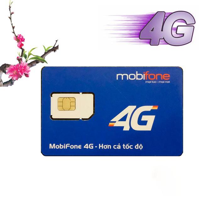 Sim 4G mobifone C90 Chuẩn Gold maxstore. Tặng 62GB và 43.000 phút miễn phí/tháng.