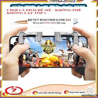Bộ 2 Nút Bấm Cơ K01 Kim Loại Hỗ Trợ Game Pubg, ROS bản nâng cấp pro nhất của nút chơi game,Nút chơi game pubg thumbnail