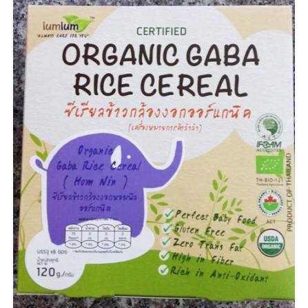 Ngũ cốc gạo Gaba hữu cơ TomYum