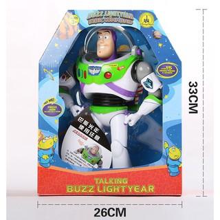 Mô hình Buzz Lightyear Star Comand 30cm