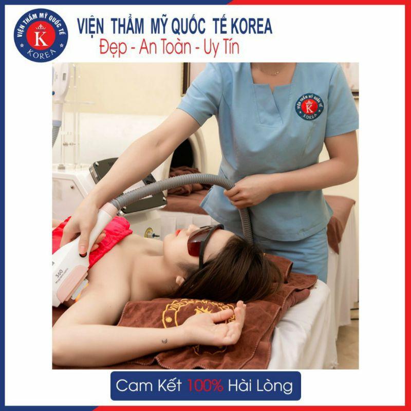 HN[VOUCHER] - Triệt lông nách 1 lần vĩnh viễn  tại Viện Thẩm Mỹ Quốc Tế Korea