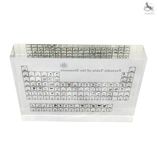 ☆COD Acrylic Periodic Table Display of Elements Chemical Elements Table Teaching Supplies