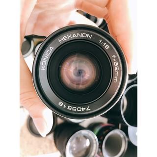 Ống kính MF Konica Hexanon 52mm F1.8 thumbnail