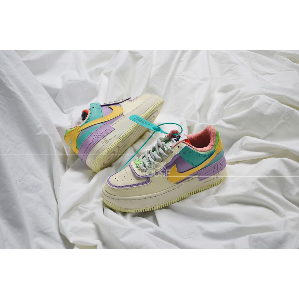 Giay N Ke Air Force 1 Shadow Pale Ivory Af1 Shadow Tim Vang Xanh Gia Thang 1 2021 The af1 shadows for women is a straight vibe. giay n ke air force 1 shadow pale ivory af1 shadow tim vang xanh