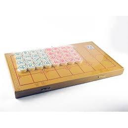 Cờ Tướng có hộp nhựa kiêm bàn chơi cờ – loại lớn