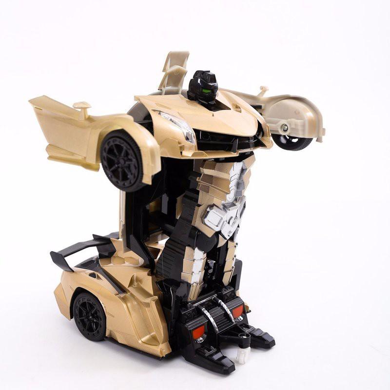 Xe điều khiển từ xa biến hình thành robot (Đỏ, Xanh, Vàng Đồng)(mới) - HOT