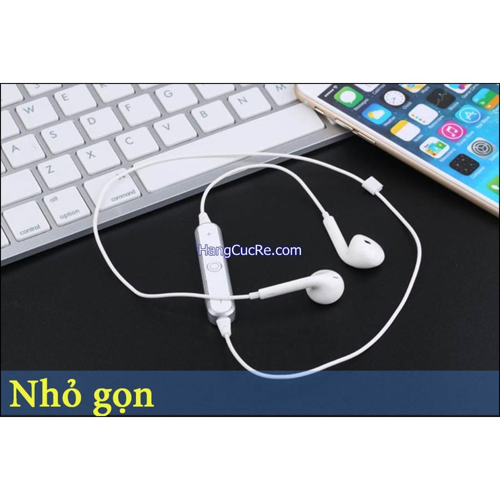 Tai nghe bluetooth 2 tai S6 có mic đàm thoại
