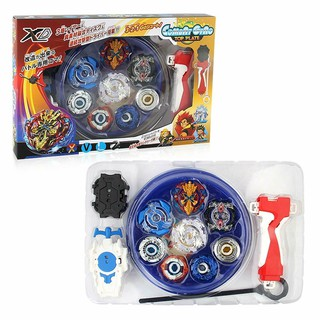 Beyblade Beyblade Burst 4D Set With Launcher Arena Metal Battle Battle Kid Gift