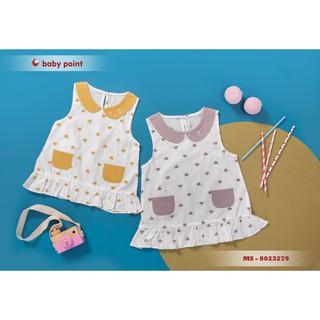 Hàng hè 2020 Áo váy BabyPoint cho bé size 12m - 3y, dành cho bé từ 8kg đến 15kg, chất cotton mềm mịn