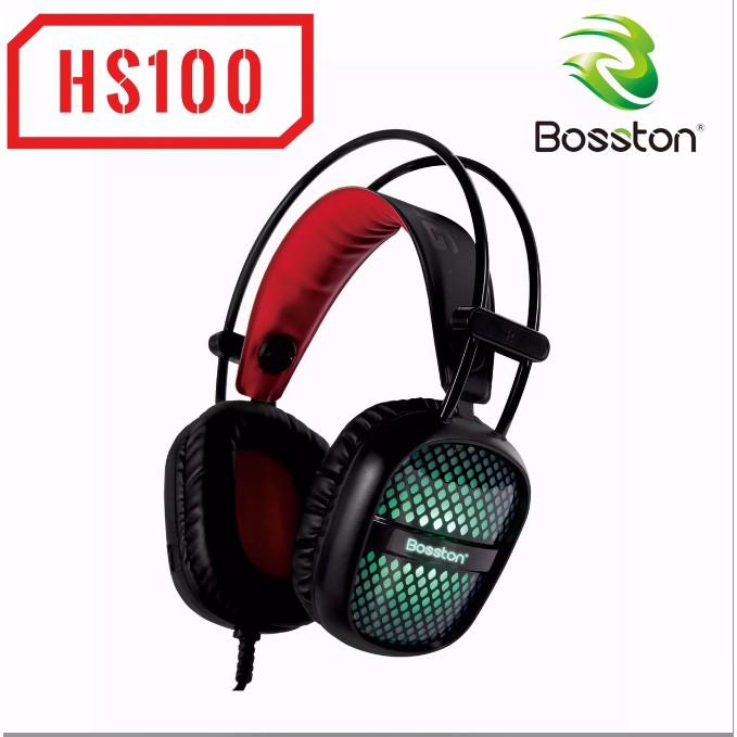 Tai nghe chuyên Game Bosston HS100 Led đa màu