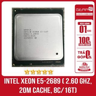 Bộ vi xử lý CPU Intel Xeon E5 2689 ( 2.60 GHz, 20M Cache, 8C 16T) thumbnail