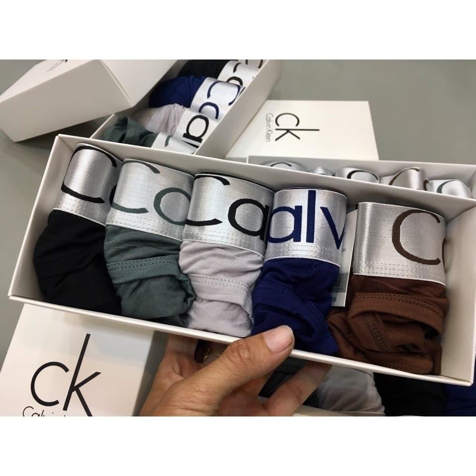 Quần sip nam CK [Combo 1 hộp 5 chiếc _ chọn màu ] - Quần lót cao cấp