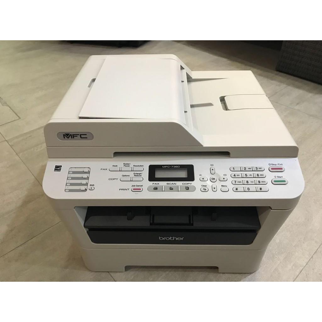 máy in đa năng brother MFC 7360 (hộp mực mới)