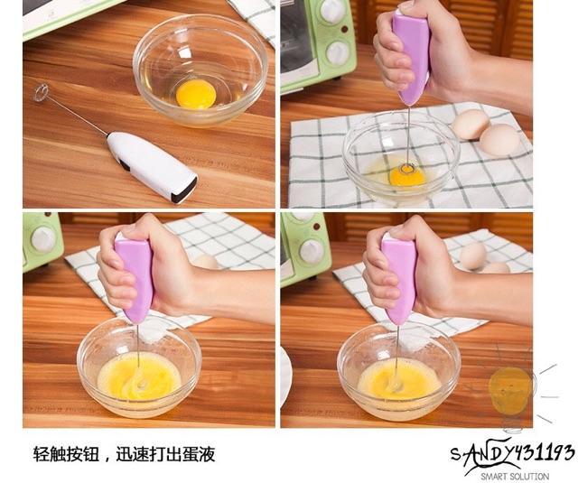 Dụng Cụ Đánh Trứng, Tạo Bọt Cafe Mini