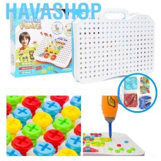 Havashop Construction engineering tool set for children preschool building educational toys Engineering Creati