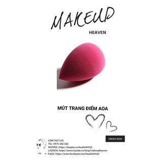 [CÓ SẴN] Mút trang điểm AOA Wonder Blender - Pink Teardrop thumbnail