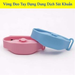 Vòng đeo tay đựng dung dịch sát khuẩn, vòng tay giúp rửa tay nhanh Giadungbpm 2