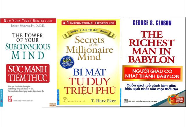 Sách - Combo 3 cuốn Sức mạnh tiềm thức, Bí mật tư duy triệu phú và Người giàu có nhất thành Babylon