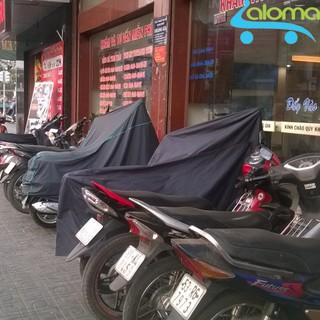 Bạt phủ xe máy 2.5m vải kết hợp nilon AL-2M thumbnail