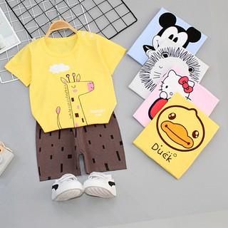 Bộ mặc nhà cho bé trai cotton M2 MIMOCHY B002