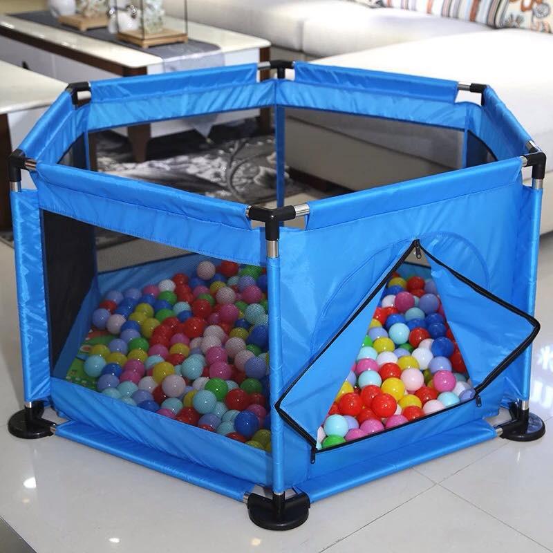 Lều bóng (banh) quây khung sắt cao cấp, Trẻ thoả sức vui chơi, Nhà banh cho trẻ em