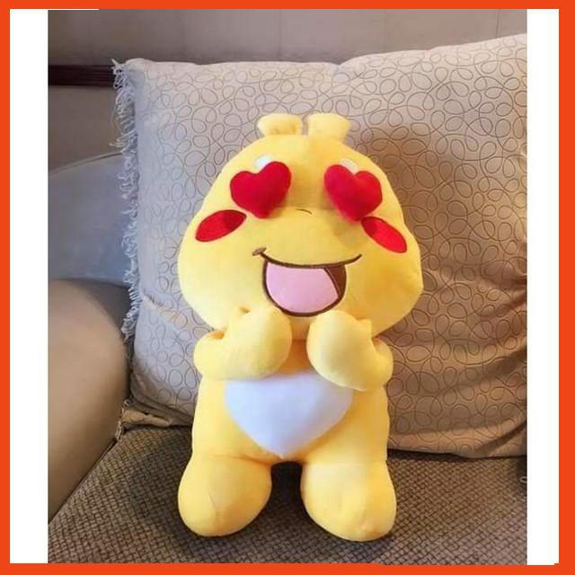 Gấu Bông Sticker Qoobee Cao Cấp Size Siêu Dễ Thương – Thú nhồi bông sticker Qoobee