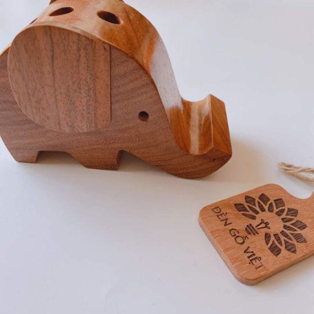 Đựng bút gỗ