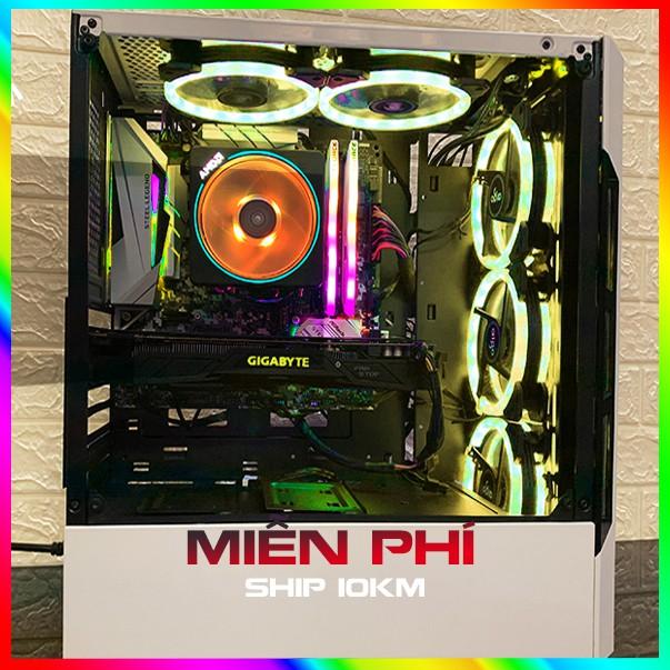 Bộ máy tính chơi game, PC Gaming, LIVESTREAM PUBG, GTA V…R5 2600, 16G Ram, Rx 580 4G Giá chỉ 12.268.000₫