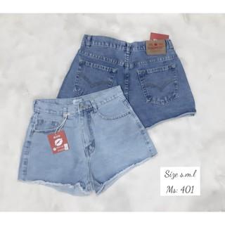 QUẦN SHORT JEAN NỮ nhiều mẫu , Quần shorts jean nữ lưng cao rách kiểu đẹp