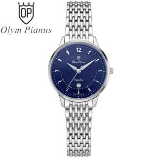 Đồng hồ nữ dây kim loại Olym Pianus OP5709 OP5709LS xanh thumbnail