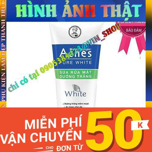 Sữa rửa mặt dưỡng trắng cho da ngừa khuẩn mụn Acnes Pure White 100g - 21920264 , 3106718869 , 322_3106718869 , 64480 , Sua-rua-mat-duong-trang-cho-da-ngua-khuan-mun-Acnes-Pure-White-100g-322_3106718869 , shopee.vn , Sữa rửa mặt dưỡng trắng cho da ngừa khuẩn mụn Acnes Pure White 100g