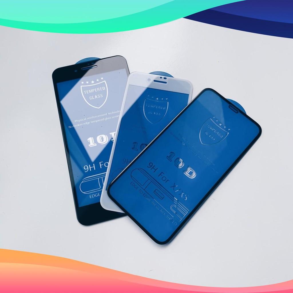 Cường Lực 10D Cho Iphone 5/6/6s/6Plus/6sPlus/7/8/7Plus/8Plus/X/Xs/XsMax Full Màn Cực Chất