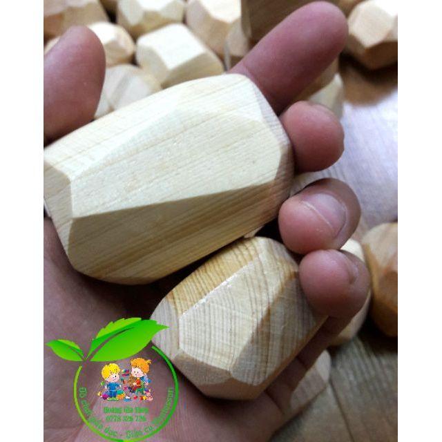 Khối cân bằng Tumi-isi bằng gỗ