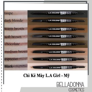 [Chuẩn Auth] Chì Kẻ Mày L.A Girl Colors Browie Wowie Brow Pencil (Nhiều Màu) thumbnail