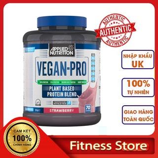Sữa Tăng Cơ Thực Vật VEGAN PRO Applied Nutrition Whey Protein 2,1kg 70 Lần Dùng, Phát Triển Cơ Bắp Từ Các Loại Hạt thumbnail
