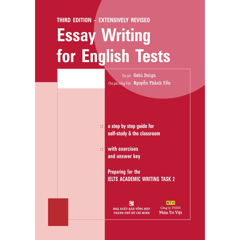 Sách - Essay Writing for English Tests