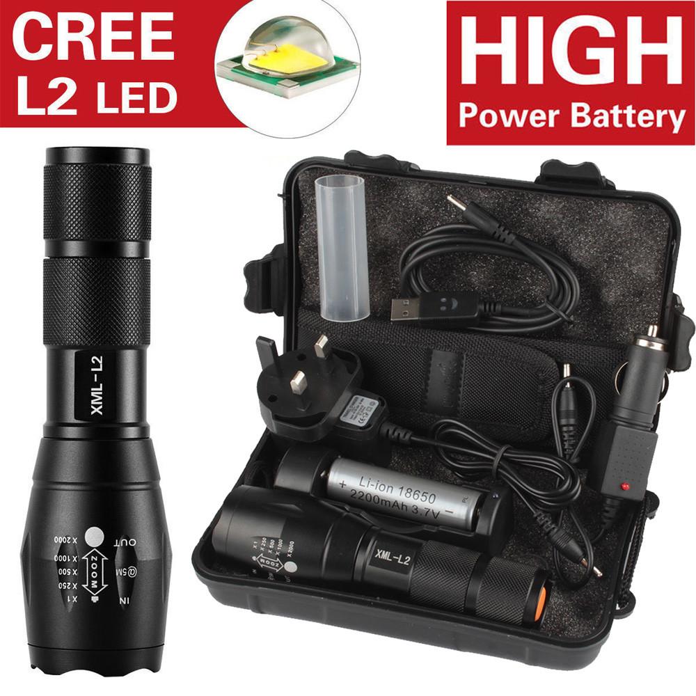 Đèn Pin Siêu Sáng 6000lm X800 L2 Led Siêu Sáng Dùng Cho Các Hoạt Động Ngoài  Trời giá cạnh tranh