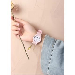 Đồng hồ thời trang nam nữ GouGou Gu66 dây nhựa mặt số HH551