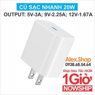 Cốc Sạc Nhanh Dành Cho Smartphone 20W Đầu Out TypeC thumbnail