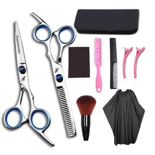 Trọn bộ dụng cụ cắt tóc tại nhà [ Combo 10 món ]