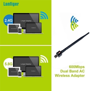 Usb Wifi Lan 2.4ghz 600mbps