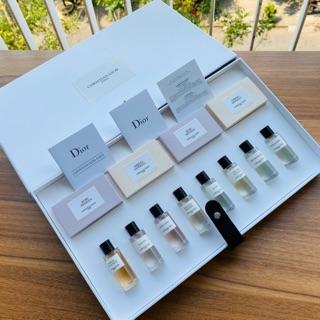 Set Nước hoa mini nữ Maison Dior discovery set bao gồm 8 loại nước hoa 7.5ml và 4 xà bông Dior siêu thơm thumbnail