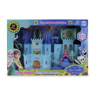 W067371 – Đồ chơi Lâu đài Beauty Castle Công chúa Elsa cao cấp cho bé