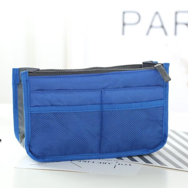 Túi vải dù du lịch 13 ngăn tiện dụng (xanh dương đậm)