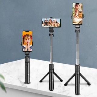 Gậy Selfie Chụp Ảnh Bluetooth Có 3 Chân Đứng Tripod Điều Khiển Từ Xa
