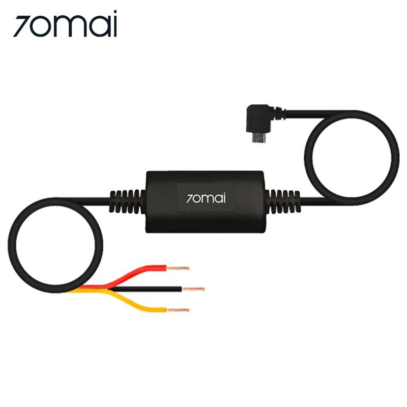 KIT nguồn Hardware Kit đấu dây nguồn trực tiếp điện cho Camera hành trình 70mai Dash Cam