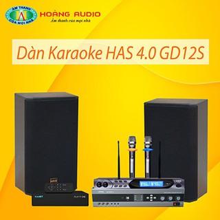 Bộ dàn karaoke gia đình HAS 4.0 GD12S thumbnail