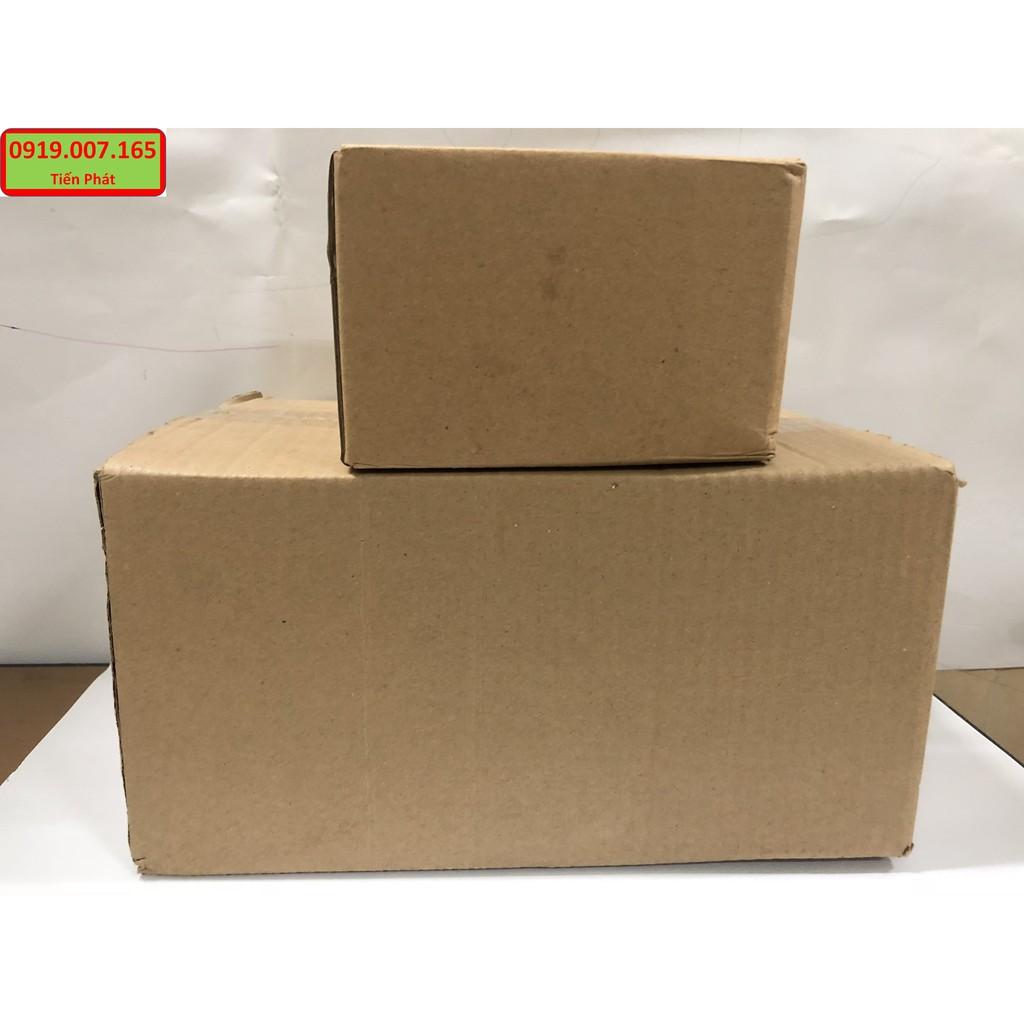 Hộp giấy carton GIÁ RẺ 12x11.5x25.5, số lượng 50 hộp